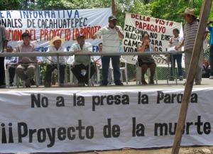 La Parota. Foto (@Sipaz)
