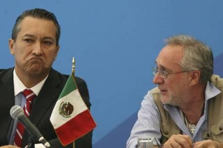 Javier Sicilia y Francisco Blake @ La Jornada