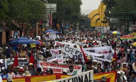 Marcha en la Ciudad de México el 29 de marzo @ La Jornada
