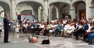 Acto de reconocimiento del gobierno de Oaxaca @ Educa