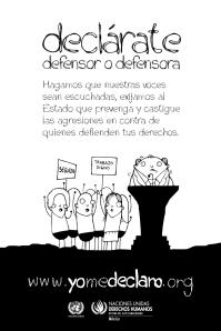 """Campaña """"Yo me declaro"""" de la OACNUDH @ yomedeclaro.org"""
