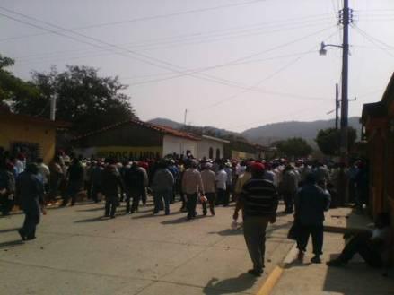 Enfrentamiento en San Dionisio @ La Jornada