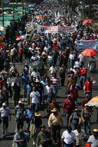 Imagen de la movilización en la Ciudad de México @ La Jornada