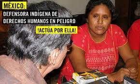 Obtilia Eugenio Manuel (@Amnistía Internacional)