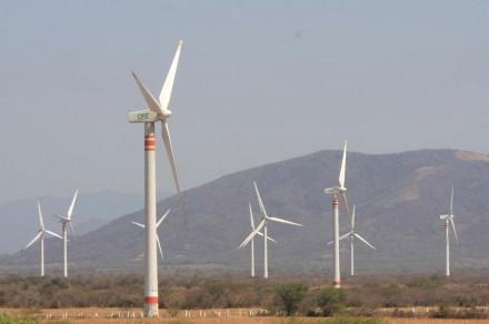 Parque eólico en el Istmo de Tehuantepec @ Proceso