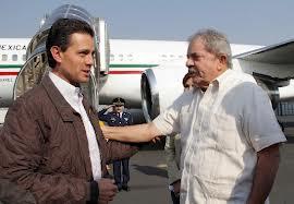 Enrique Peña Nieto y Da Lula Silva (@Animal Político)