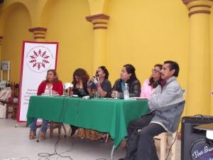 """Panel en el Foro """"Defendiendo la esperanza y la autonomía desde el Sureste mexicano"""" (@SIPAZ)"""