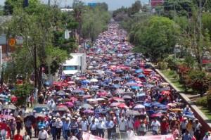 imagen de la marcha @ Proceso