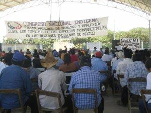 Encuentro del CNI en el Istmo de Tehuantepec en 2011 @ archivo SIPAZ