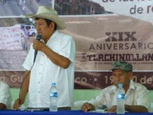 Opositores al proyecto hidroeléctrico de La Parota. Foto @SIPAZ