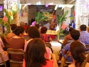 Durante el Seminario en Álvaro Obregón @ SIPAZ