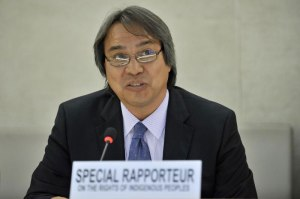 James Anaya, relator especial de Naciones Unidas sobre Pueblos Indios (@UN)