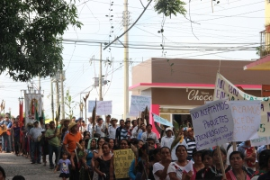 Marcha 10 octubre 2013 @ Centro DH Fray Bartolomé de Las Casas