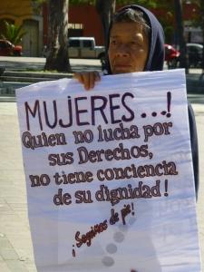 Marcha en Oaxaca. Fotos @SIPAZ