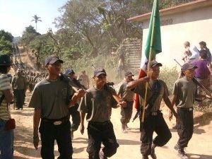 Policías comunitarias (@cgtChiapas)
