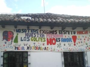 Manta en San Cristóbal de Las Casas