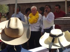 Raúl Vera López, Ayutla de los Libres, febrero de 2014 (@SIPAZ)