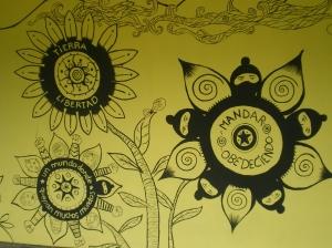 Mural en Caracol IV, Torbellino de Nuestras Palabras @ SIPAZ