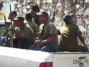 Miembros de las CRAC-PC. Foto (@Sipaz)