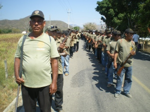Policías Comunitarias de San Luis Acatlán (@SIPAZ archivo)