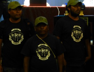 Policía Comunitaria de Álvaro Obregón. Foto (@Sipaz)