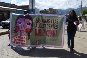 Marcha del 8 de marzo en San Cristóbal. Foto (@Sipaz)