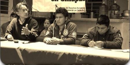 Rueda de prensa de los liberados. Foto (@Pozol Colectivo)