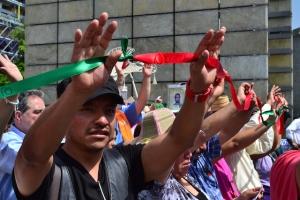 Tercer Aniversario del MPJD, Ciudad de México (@Uriah Samuel)