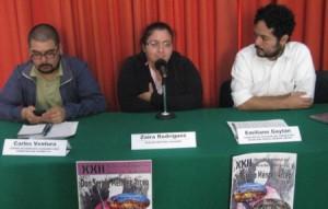 """Entrega del Premio Nacional en Derechos Humanos """"Don Sergio Méndez Arceo"""" 2014 (@losangelespress)"""