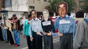 ¡Detenidos Desaparecidos a las Calles! ¡Presentación YA! (@Comité Cerezo)