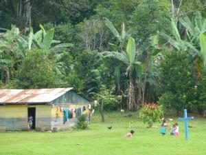 Población en la Selva Lacandona. Foto (@Sipaz)