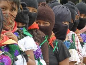Mujeres Bases de Apoyo del EZLN. Foto (@Sipaz)