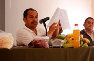 Conferencia de prensa en el Centro Prodh Foto (@Alina Vallejo, Sididh)
