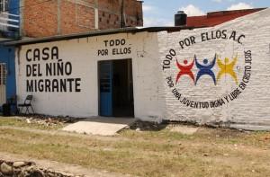 """Albergue """"Todos por Ellos"""", en Tapachula (@Centro PRODH)"""