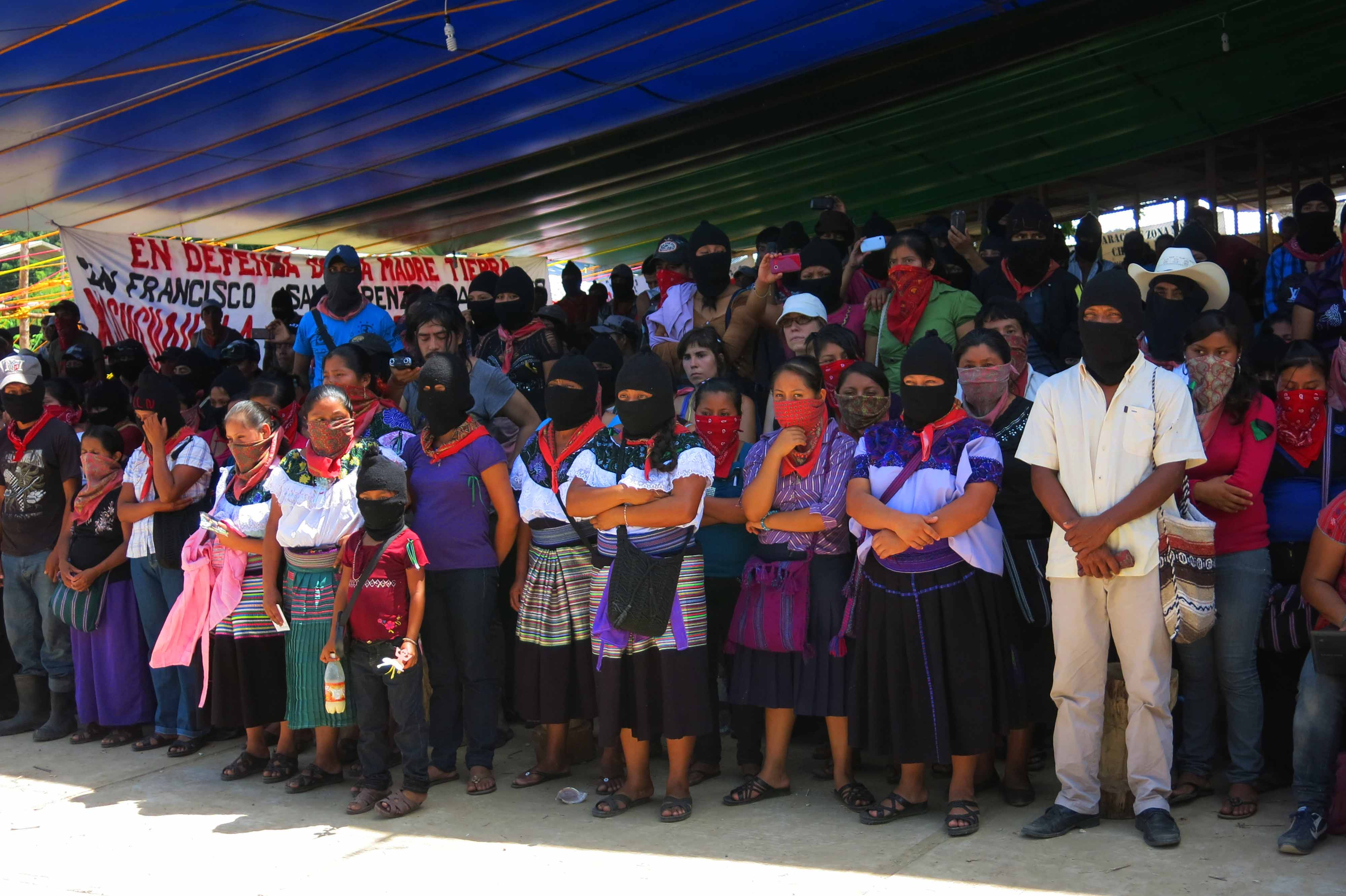 Resultado de imagen para EZLN-CNI V Congreso, propuesta política
