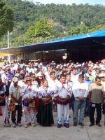 """la """"Primera Compartición de los Pueblos Zapatistas y los Pueblos Originarios de México"""" (EZLN)"""