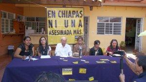 Conferencia de prensa sobre el caso Tatiana (@SIPAZ)