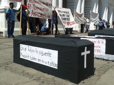 Marcha en San Cristóbal de Las Casas @ SIPAZ