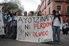 Acciones globals por Ayotzinapa (@CENCOS)