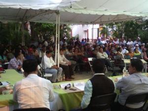Consulta en Juchitán (@Gobierno del estado de Oaxaca)