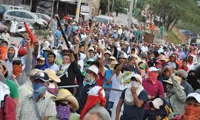 Manifestación en Guerrero (@transfondoinformativo.blogspot.com)