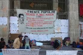 PLantón por la liberación de Florentino Gómez Girón (@quadratin.com.mx)