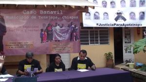 Conferencia de prensa, 4 diciembre 2014 @ SIPAZ