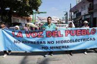 Marcha en Tapachula (@Observatorio de Conflictos Mineros de América Latina)