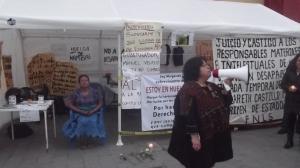 Acto en solidaridad con Margareth, San Cristóbal de Las Casas, 12 de marzo de 2015 (@SIPAZ)