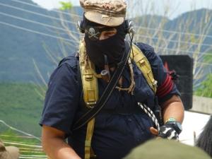 Subcomandante Insurgente Galeano. Foto de archivo @ SIPAZ