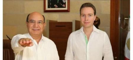 Juan Carlos Gómez Aranda y Manuel Velasco Coello (@AristeguiNoticias)