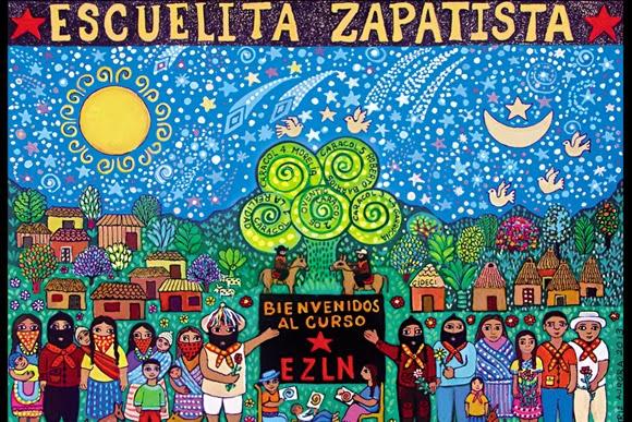 Resultado de imagen para escuelita zapatista