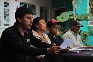Rueda de prensa @ChiapasDenunciaPú