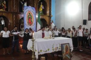 (Durante la misa @ChiapasDenunciaPública